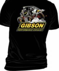 Gibson Performance Exhaust - Gibson T-Shirt, UTV Black - Image 2