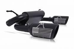 Gibson Performance Exhaust - Patriot Series Dual Split Exhaust, Black Ceramic  #70-0002 - Image 3