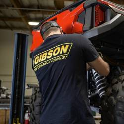 Gibson Performance Exhaust - Gibson Logo Black T-Shirt - Image 2
