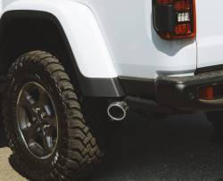 Gibson Performance Exhaust - 2020 Jeep Gladiator 3.6L, Black Elite Cat-Back Single Exhaust,  Stainless, #617409B - Image 3
