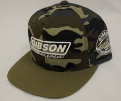 Gibson Performance Exhaust - Gibson Hat, Camo Fitted, #HA-801 - Image 2
