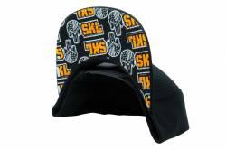 Gibson Performance Exhaust - Gibson Skull  Black Hat, Snap Back #HA-804 - Image 2